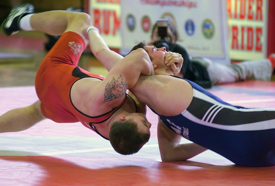 Some of the best types of takedown defense can be learned from wrestling.